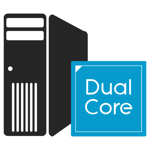 dual core icon