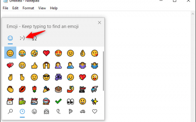 Tech Tip – Windows 10 Emoji/Kaomoji Keyboard