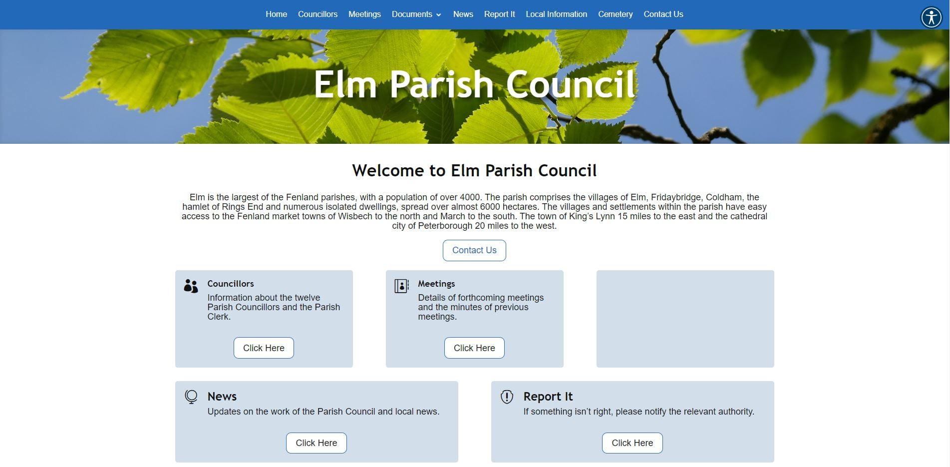 elm parish screenshot